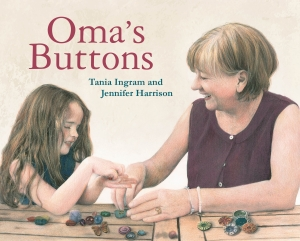 Oma's Buttons Book Cover